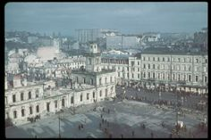 Warsaw, after the German bombardment. Location:	Warsaw, Poland Date taken:	October 1939 Photographer:	Hugo Jaeger