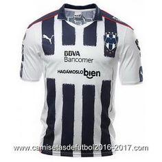 Camisetas de futbol baratas 2016: Equipacion del Monterrey 2016 2017