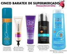 5 produtos de beleza baratex para comprar no supermercado.