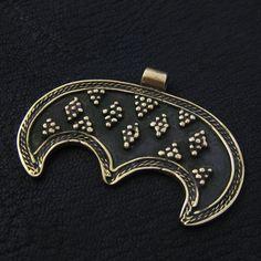 Bronze Moravian lunula from The Sunken City by DaWanda.com
