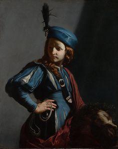 david with the head of goliath cagnacci