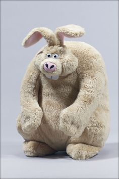Were Rabbit: Wallace & Gromit Beanbag Toy by McFarlane