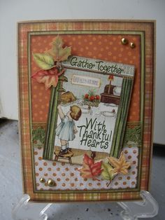 With Thankful Hearts - Scrapbook.com