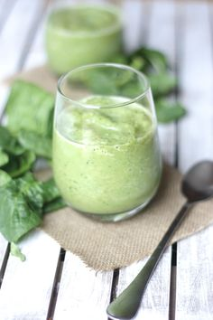 Green Citrus Spinach Smoothie