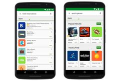 search ads in google play