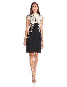 Amazon.com: Calvin Klein Women's L/s Print Dress W/ Hardware: Clothing