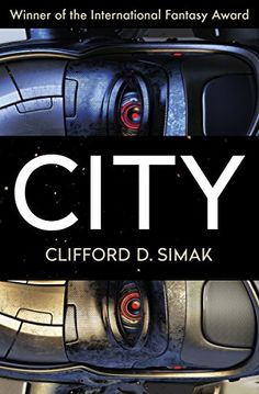 City by Clifford D. Simak.     This award-winning science fiction classic explores a far-future world inhabited by intelligent canines who pass down the tales of their human forefathers.