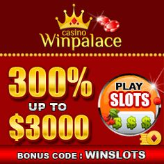 Special Free Bonus Offered By Win Palace CasinoAvail free bonus offers on popular games by Win Palace Casino. All details about the latest casino bonuses are listed below: