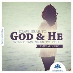 He Will Draw Near to You - http://www.dayspring.com/ecardstudio/#!/single/781