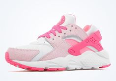 The Nike Air Huarache GS Pink Pow Is Available Now