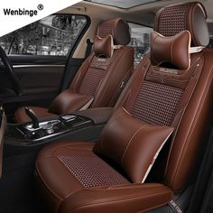 ( wenbinge ) Special Leather car seat covers For Toyota Corolla Camry Rav4 Auris Prius Yalis Avensis SUV auto accessories #Affiliate