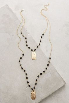 Ashen Light Layered Necklace #anthrofave