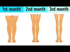 3-Minute Workout Before Sleep to Slim Down Your Legs - YouTube