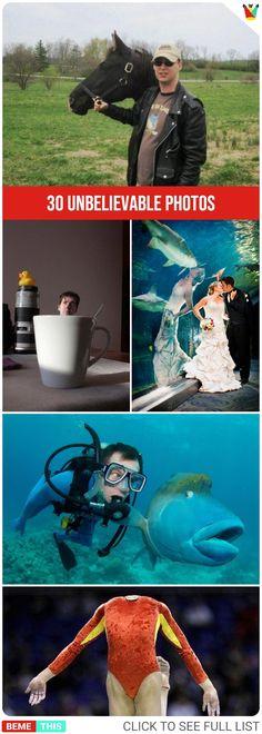 30 Unbelievable Photos #coincidence #mystery