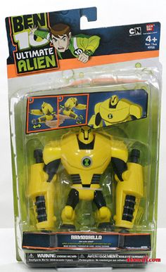 Ben 10 Armodrillo DNA Alien Ultimate Hero [TSB1032175] - ₹799.00 : Toyzstation.in, The online toys store