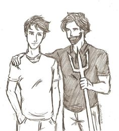 Percy Jackson and Poseidon