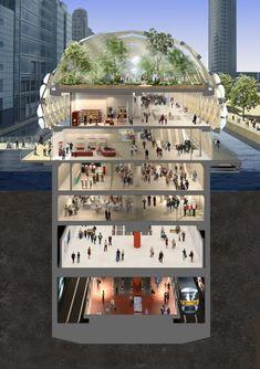 London, Canary Wharf Station - Google Search