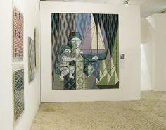 cerâmica modernista em portugal: Azulejaria moderna na exposição Fragmentos de Cor | Azulejos do Museu de Lisboa I