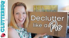 How to Declutter Like a Pro Craft Organization, Household Organization, Organizing Tips, Like A Pro, Easy Projects, Discover Yourself, The Creator, Youtube, Trash Bag