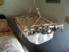 The Lost Boys' Baby Hammock: DIY Baby Hammock Tutorial  {how fun is this? I think we will need 4, one for each kid}