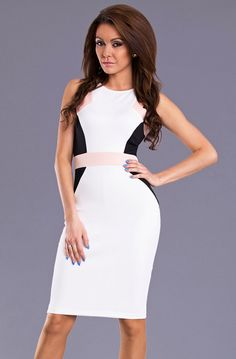 EMAMODA DRESS - WHITE 8602-4