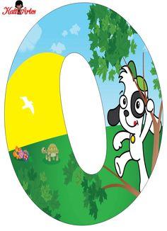 Alfabeto Gratis de Doki.   Oh my Alfabetos! Cute Letters, Alphabet Letters, Doki, Dog Boarding, Party Themes, Blog, Symbols, Scrapbook, Fictional Characters