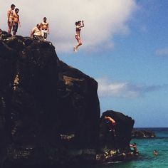 the best rush of exhilaration...right before you take the leap of faith