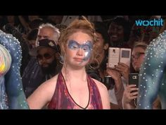 Model With Down Syndrome Madeline Stuart Makes Her New York Fashion Week Debut - YouTube