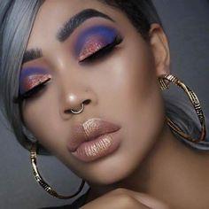 Gorgeous Makeup: Tips and Tricks With Eye Makeup and Eyeshadow – Makeup Design Ideas Eye Makeup Tips, Makeup Goals, Makeup Geek, Makeup Remover, Makeup Inspo, Eyeshadow Makeup, Makeup Inspiration, Eyeshadows, Easy Makeup