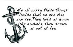 Anchor lines to live by...
