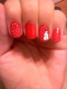 Cute holiday nails
