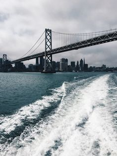 A fine day for a ferry ride on San Francisco Bay.