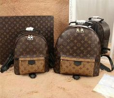 LOUIS VUITTON Monogram Canvas Palm Springs Backpack Bag
