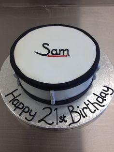 Base Drum Cake