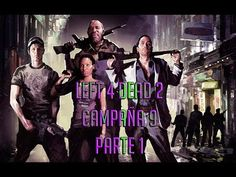 LEFT 4 DEAD 2 CAMPAÑA COOPERATIVA TERAPIA DE CHOQUE PARTE 1 PC GAMEPLAY ...
