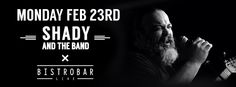 """Shady Nashef and The #Band once more hit the #tunes on Monday 23rd February! Happy Hour 5-8 Pm #Show starts at 9:30 PM #Great_food, #great_drinks and #great_music! We are located on the corner of the newly opened Courtyard in Hamra- Just by """"The Alley way"""", on Makdessi Street. Beirut- Lebanon, of course… #BistroBarLive  see more: http://goo.gl/YlNO4J"""