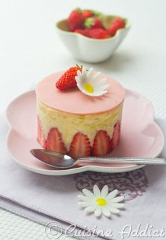 Tarta Fraisier, la propuesta dulce del CWK - Whole Kitchen