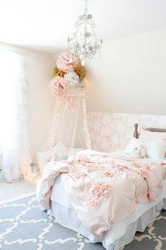 little girl bedroom makeover: the details