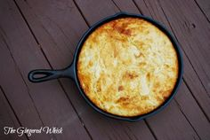 Sourdough Cornbread via @GingeredWhisk