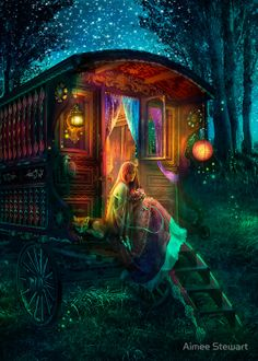 """Gypsy Firefly"" Canvas Prints by Aimee Stewart | Redbubble"