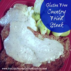 Gluten Free Country Fried Steak - AWESOME!