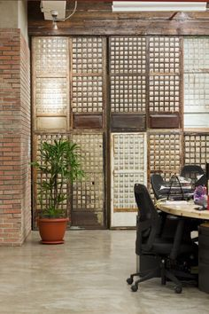 Modern Interior Design With Rustic Masculine Wall Inside Migos Creative Manila Offices