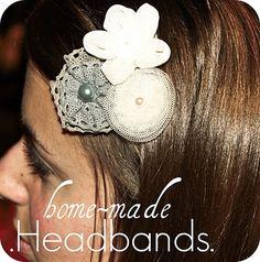 DIY Homemade Headbands