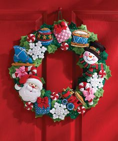 Christmas Toys Wreath