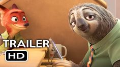 Zootopia Official Sloth Trailer (2016) Jason Bateman Disney Animated Mov...