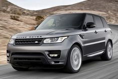 The Range Rover Sport used to have a mean face but the 2014 lost some of that ruggedness .. still a sweet ride but now I'd rather get the full size RR #RangeRover #Sport
