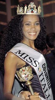 Denny Mendez, Black Italian Women.  Miss Italy 1996.