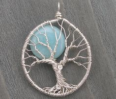 Once in a Blue Moon Pendant by ethorart, via Flickr