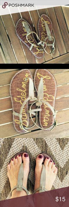Sam Edelman Camo Gigi Sandals Lightly worn authentic Sam Edelman Gigi sandals for your next cruise😎 Sam Edelman Shoes Sandals