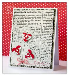 Sylvia Blum: {Sylvias Stamping Place} – Love - 12/14/12.  (Paper Smooches Stamps: Falling For You).  Pin#1: Valentines: Hearts...  Pin+: Doilies).